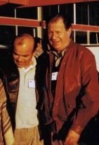 Luis Arias Manzo y Ricardo Lagos Escobar en congreso PS en 1989