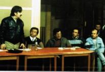 Ricardo Núñez, R. Astorga, H. Miranda, M. Ugalde y Luis Arias Manzo 1987